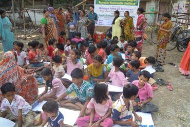 art competition of poor children